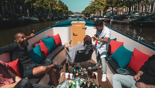 Barberboat Amsterdam